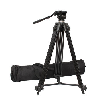 WF-717 Professional 1.8m Fancier Video Camera Camcorder Tripod Fluid Pan Head
