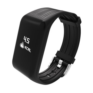 Idoneità Activity Tracker In tempo reale Cuore Rate Monitor Impermeabile Smart Wristband