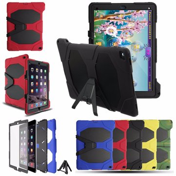 Detachable Heavy Duty Stand Holder Silicone Custodia per iPad Pro 12.9