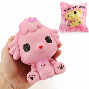Squishy Puppy Doll Dog 14cm Slow Rising With Packaging Collection Gift Decor Soft Squeeze Toy