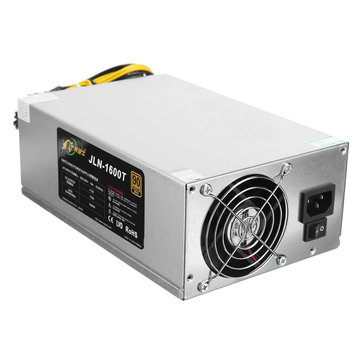 1600W 90 Plus Mining Machine Miner Power Supply For Bitcoin Miner S7 S9