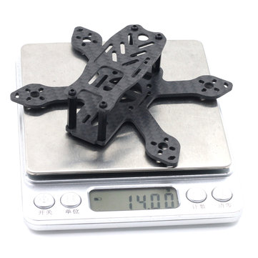 90L 90mm Brushless Micro FPV Racing Frame RC Drone Carbon Fiber 14g