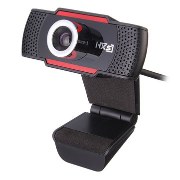 Original HXSJ S30 Foldable 720P HD Webcam Computer Camera with Sound-absorbing Microphone Mic