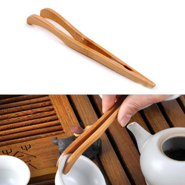 Bamboo Tea Tweezer Clamp Kungfu Tea Acessaries