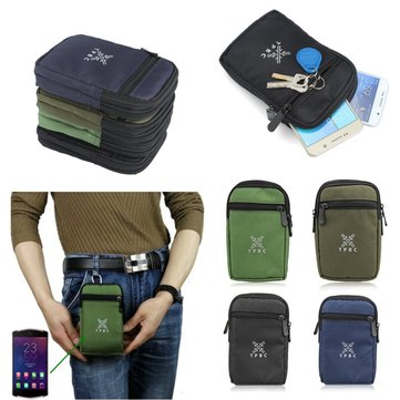 Universal Multifunctional Outdoor Travel Waist Bag For Hiking Climbing For iPhone 6/6s Plus Samsung