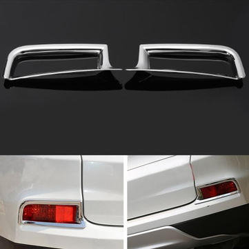 2pcs Rear Fog Light Cover Guard Plating Lamp Cover For Honda CR-V 2015 2016