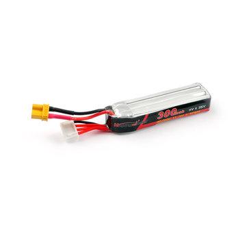 Happymodel 300mAh 11.4V 30C/60C 3S XT30 Plug Lipo Battery for Mobula7 HD Sailfly-X URUAV UR85 / UR85HD RC Drone