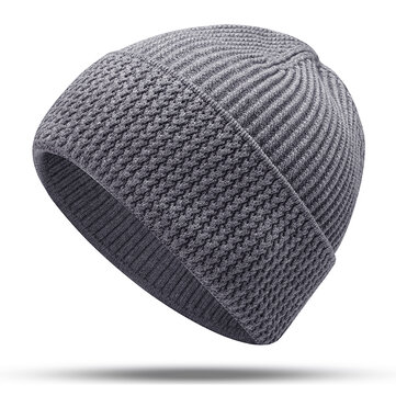 Mens Womens Slouchy Knit Beanie Hat