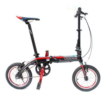 LAPLACE L412 14inch Folding Bike Mini Folding Bicycle Bike V Brake Aluminum Alloy Material