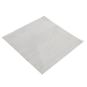25.4x25.4cm Woven Wire 304 Stainless Steel Filtration Grill Sheet Filter 100 Mesh