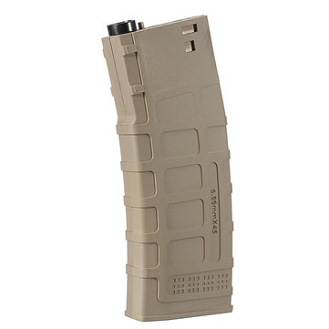 Spare Tan Magazine for JinMing SCAR V1 V2 Gel Ball Blasting Water Gun Replacement Accessories