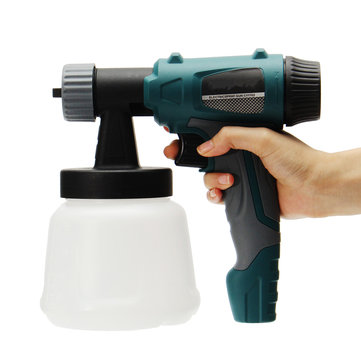 800W 900ML Electric Painter Gun Spray Latex Paint Sprayer House Painting Machine