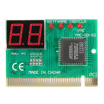 PCI PC Notebook Laptop Analyzer Motherboard Diagnostic 2-Digit Test Post Card
