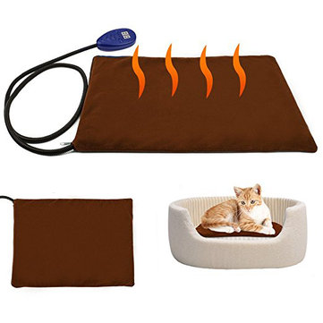 Pet Heating Pad Electric Heating Pad for Cats and Dogs Kitty Warming Mat