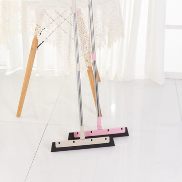 Magic Broom Sweep the Floor Household Wiper Soft Cleaning Brush Mop Dust Hair Stainless Steel Broom Wooden Floor Cleaning Tools