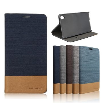 Mohoo Flip Leather Case PC Cover Card Pocket Stand for Sony Xperia Z5 Premium