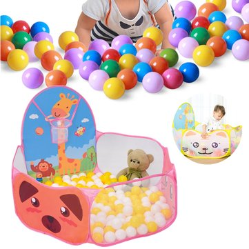 120CM Foldable Children Kids Ocean Ball Pool Toy Play Tent For Indoor Outdoor Game