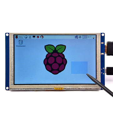 5 Inch Plug-and-Play 800 x 480 HD Display Module With USB Touch Screen