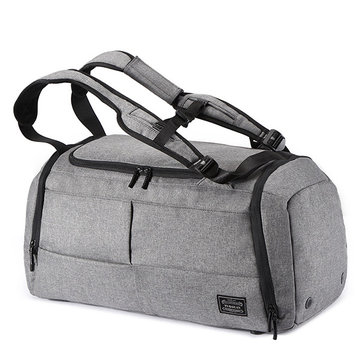 Mens Travel Bag Duffle Bag Large Capacity Gym Bag with Separate Shoes Compartment