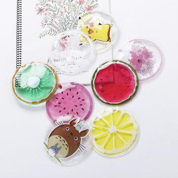Honana WX-TB2 Cooling Mat Summer Fruit Shape Soft Gel Ice Wrist Pad Self-cooling Cushion