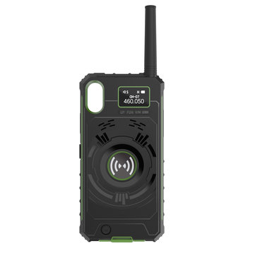 NO.1 Multifunctional Wireless Handheld Walkie Talkie Protective Case Mobile Power Bank For iPhone
