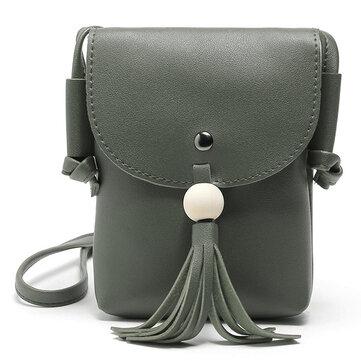 Vintage Tassel Handbags Crossbody Bags For Women