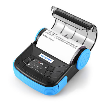 GOOJPRT MTP-3 Portable 80mm Bluetooth Thermal Printer EU Plug Support Android POS Multi-language