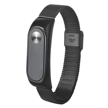 DEFFRUN Stainless Steel Wrist Strap for XIAOMI Miband 2