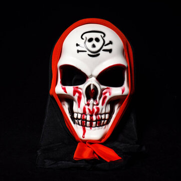Halloween Terror Mask Clown Skulls Vendetta Man Mask for Stage Street Dance