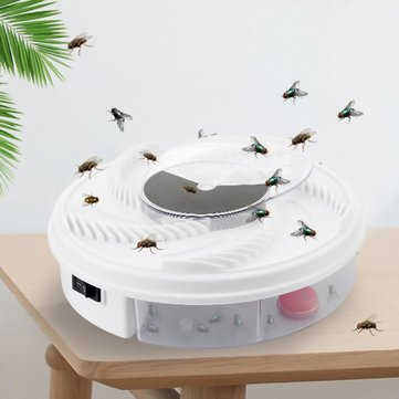 KCASA USB Electric Fly Trap Device Animal Repeller Mosquito Dispeller Fly Catcher