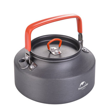 Naturehike NH17C020-H 1.1L 3-4 Person Alumina Outdoor Kettle Portable Camping Hiking Travel Teapot