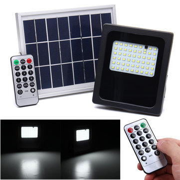 6V 3W 54 LED Solar Lights Flood Lantern Motion Sensor Outdoor Garden Path Lamp IP65 Waterproof