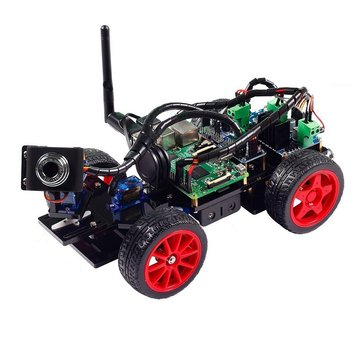 Sunfounder TS0248 Smart Remote Control Video Car Kit for Raspberry Pi with Android App