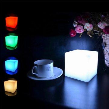 Romantic LED Colorful Mood Cube โคมไฟโกลว์ไนท์สำหรับงานตกแต่งภายในของบ้าน