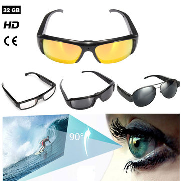 Glasses Camera HD Hidden Cam Video Recorder Glasses