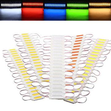 20 PCS Waterproof COB Injection LED Module Strip Light Window Store Front Lighting Lamp DC12V