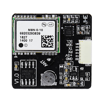 JHE M8N GPS Module Built-in QMC5883 Compass for F3 F4 F7 INAV Flight Controller RC Drone