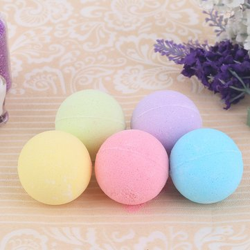 6PCS Bathroom Aromatherapy Type Body Cleaner Hand Gift Bath Ball Bomb Salt Moisturizing Blasting Germicidal