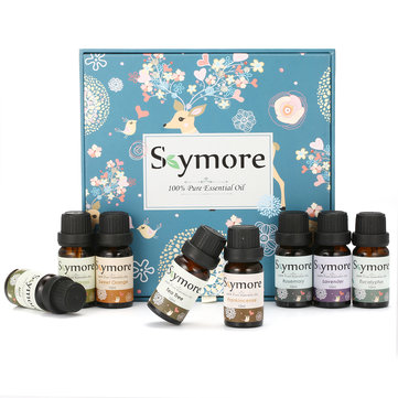 Skymore Top 8 Pure Essential Oils Set