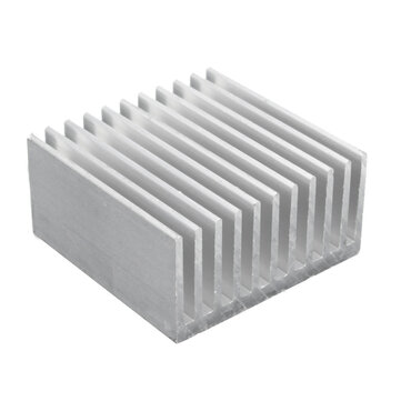 40x40x20mm Aluminum Heat Sink Heat Sink For CPU LED Power Cooling