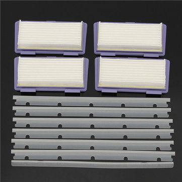 11pcs Sweeper Accessories Replacement Filters Adhesive Tapes and Scratch-chip for Neato XV