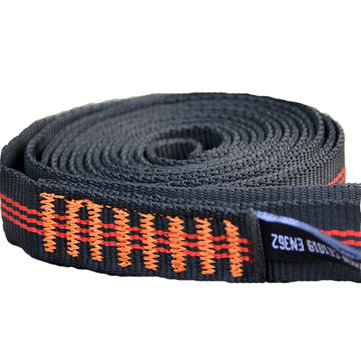 Xinda 22KN 60cm Climbing Sling Safety Bearing Strap Rope Flat Belt For Outdoor Mountaineering
