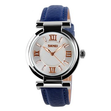 SKMEI 9075 Fashionable Dress Ladies Wrist Watch