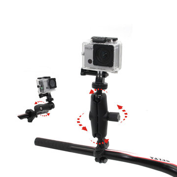 NSTAR Bike Handlebar Mount for Go Pro, SJCAM, XIAOYIMI and Other Action Cameras Shockproof