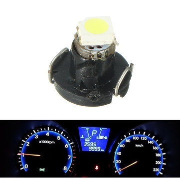 T3 3528 SMD Car Dashboard Light Neo Wedge LED Instrument Light Panel Bulb Gauge Lamp White