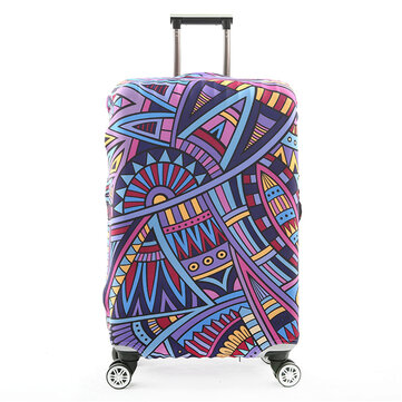 Luggage Cover Protective Suitcase Cover Camping Travel Portable Luggage Dust Cover For 18 To 32 Inch