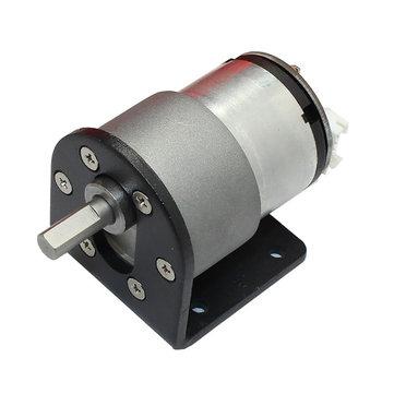 DC 12V 320rpm Encode Gear Reducer Motor Electric Gear Box Motor