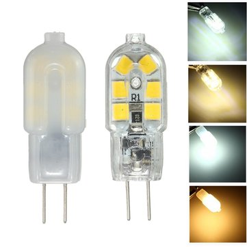 G4 Base 2W 12SMD LED Warm/Cool/Natural White Light Lamp Bulb AC/DC12V