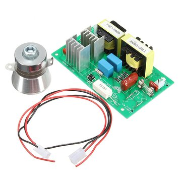AC 100W 40KHZ Ultrasonic Cleaning Power Driver Board With 50W 40K Transducer 220V
