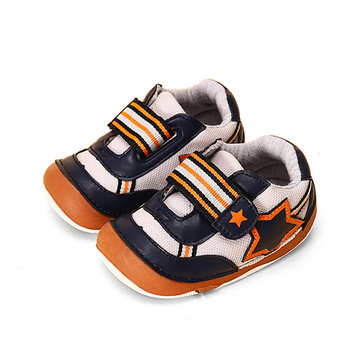 Baby Boy Soft Bottom Mesh Breathable Sports First Walking Shoes